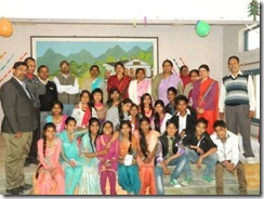 Khel 8th graders farewell