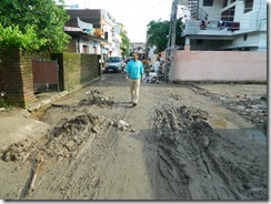 Flood Damage Roads Shiv Puri Colony