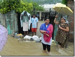 Flood Damage Shiv Puri Colony with Kamli