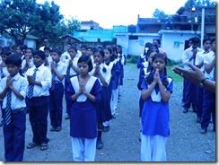 LDA Students and staff pray for victims of Uttrakhand disaster