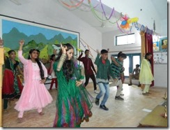 Teacher program 5 LDA older kids perform a Bollywood dance