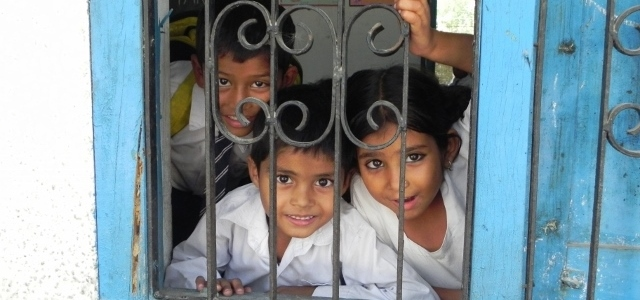KHEL Kids Say Hello to Visitors by Shalini Persaud